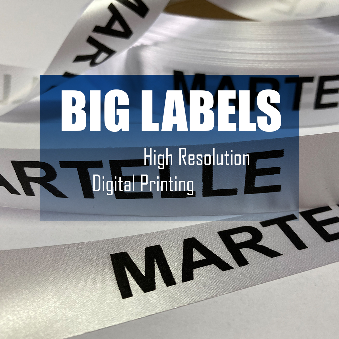 Ribbon with printing, for packaging or decoration (for example Martelle) 5