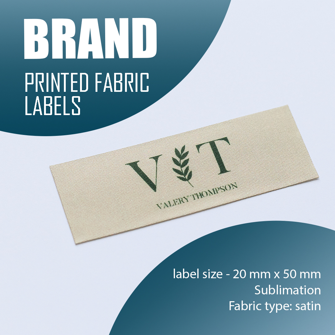 The label is branded with a logo. Serves to emphasize the brand. 17