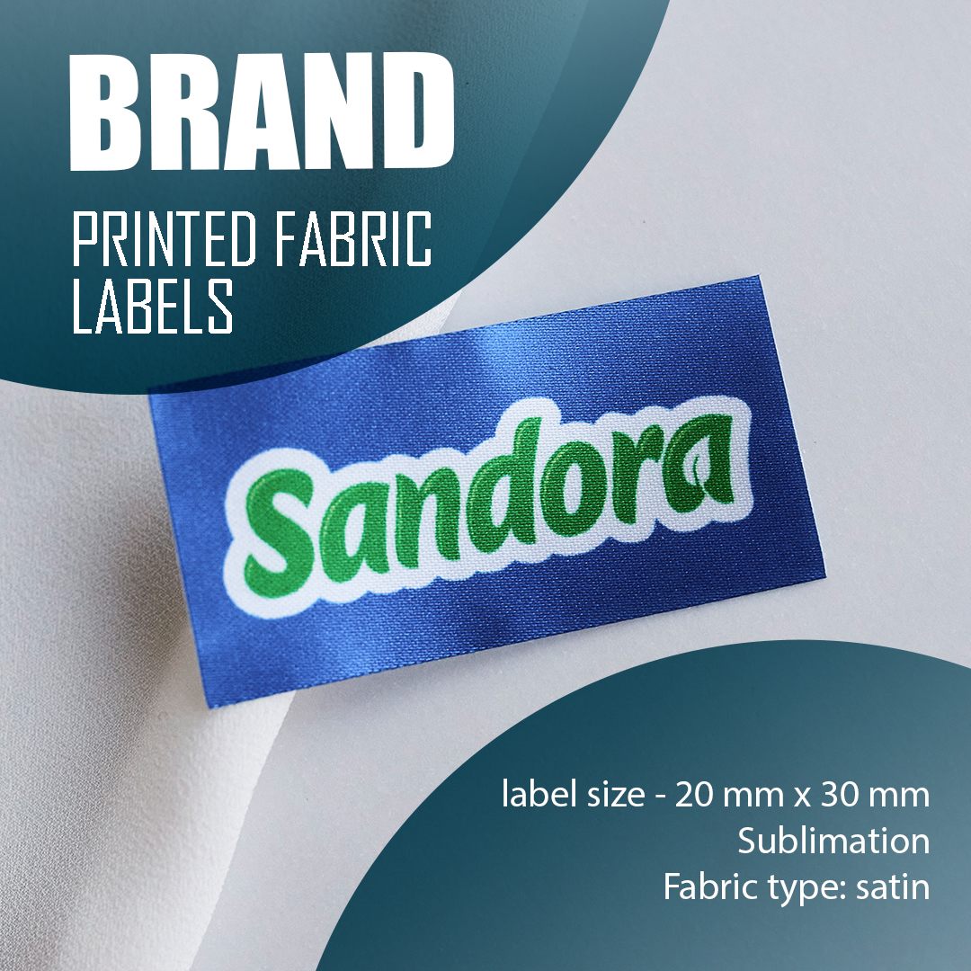 The label is branded with a logo. Serves to emphasize the brand. 15