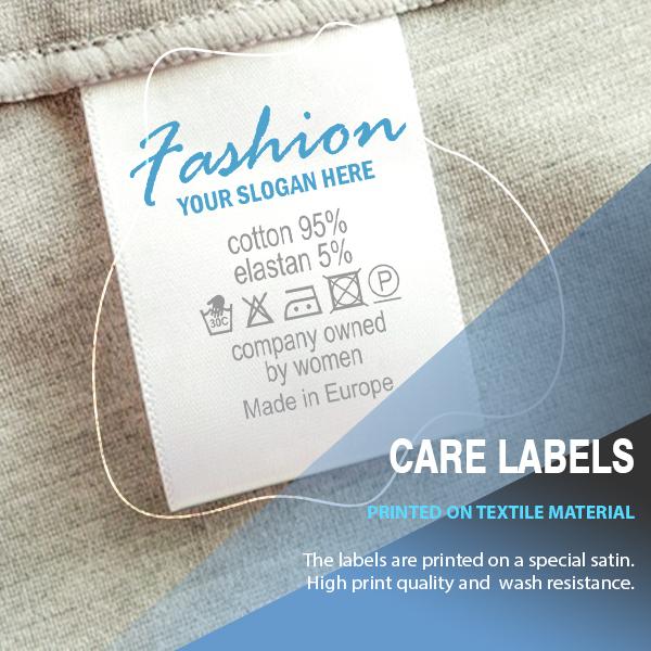 Care labels 1