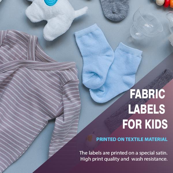 Labels for kids 5