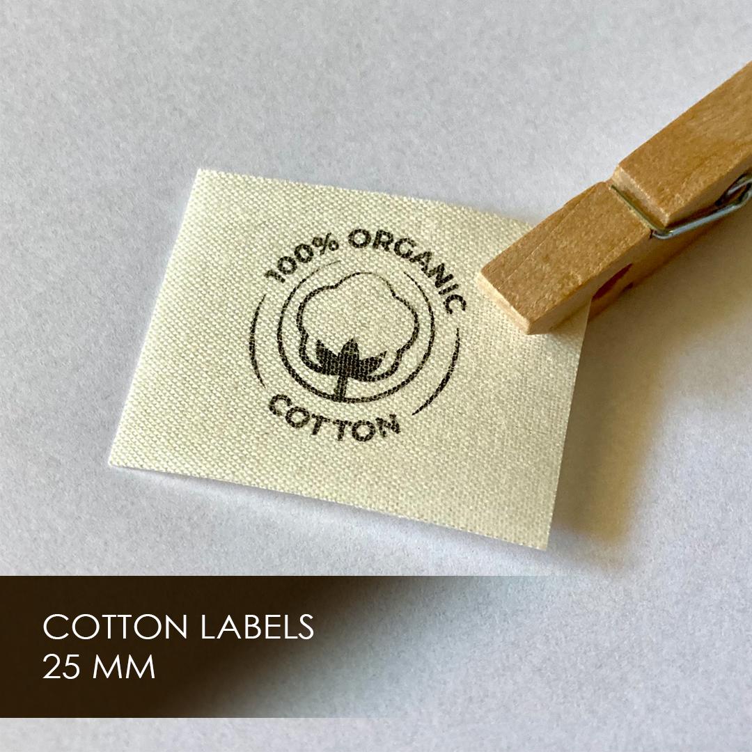 Label on cotton width 30 мм 5