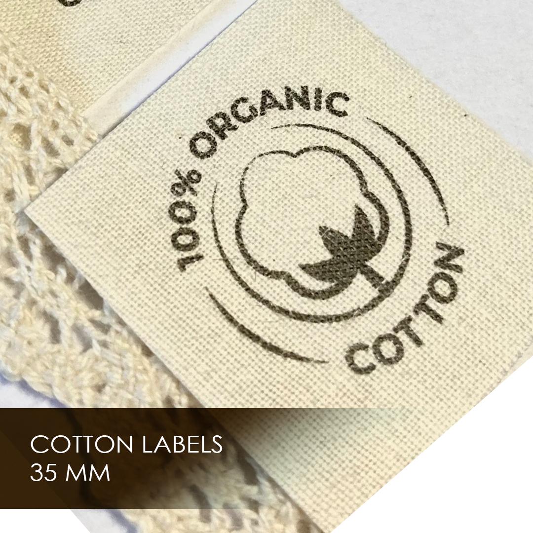 Label on cotton width 35 мм 7