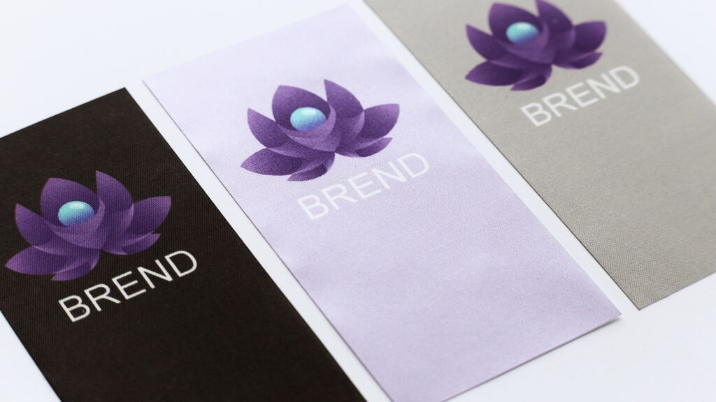 Do you sew a label for your products? 3