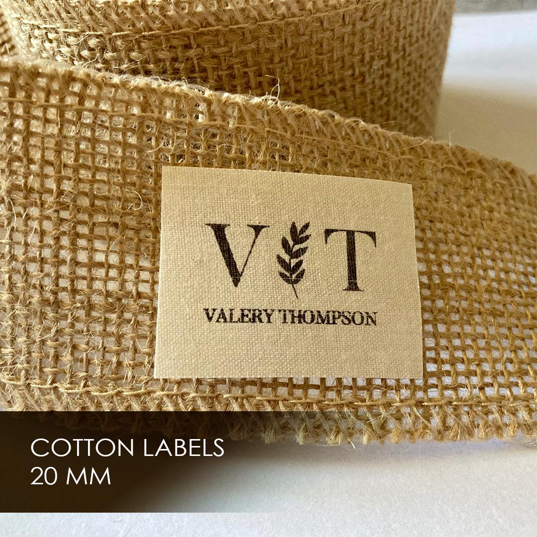 Label on cotton width 20 мм 5